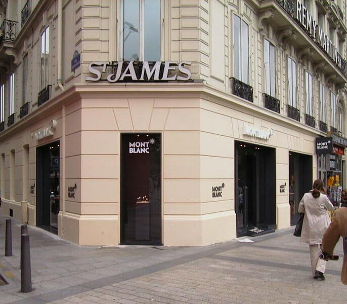Landmark pour Mont Blanc | Paris